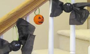 styrofoam bat craft for kids time snippets