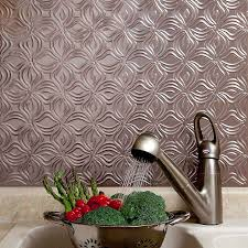 kitchen backsplash metal panels fau panels surripui net