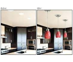 Changing Recessed Lighting To Pendant Lighting How To Replace Recessed Lighting With Pendant Lighting Replace