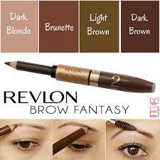 revlon brow fantasy light brown makeup rack