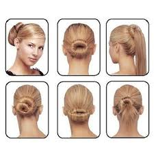 hairstyles with a hair donut 40 best hairstyles images on pinterest chignons haircut styles