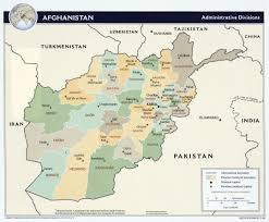 Afghanistan On World Map by