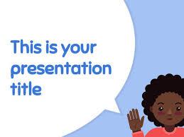 templates powerpoint lucu presentation template cute and playful design