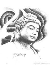 buddha sketch free download clip art free clip art on