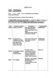 wh questions lesson plan beginners