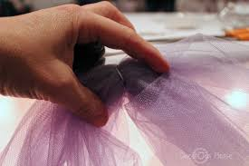 how to use tulle to decorate a table andrea howard blog decorating a cake table with lights and tulle