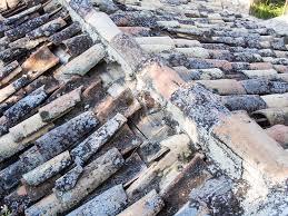 Terracotta Tile Roof Half Pipe Terracotta Tile Roof Stock Image Image 53259325