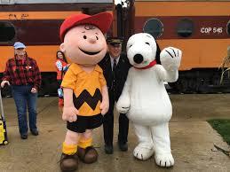 peanuts the great pumpkin patch express mt rainier railroad