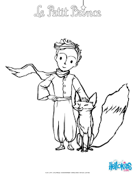 the fox and the little prince coloring page comic pinterest