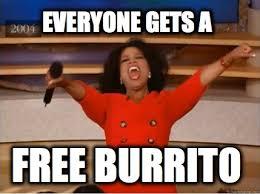 Meme Creator Free - meme creator everyone gets a free burrito meme generator at