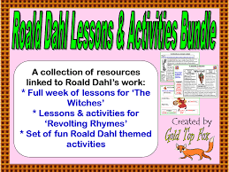 roald dahl u0027s revolting rhymes poetry lessons and activities by