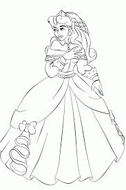 aurora coloring pages print coloring