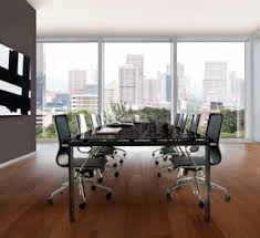 Black Glass Boardroom Table Black Boardroom Table All Architecture And Design Manufacturers