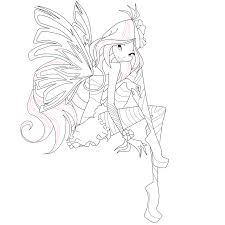 flora coloring pages flora sirenix coloring page 2 by mskittencreations on deviantart