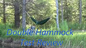 backpacking double ultralight hammock test review for under 25