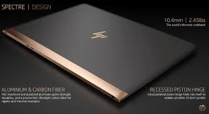 hp design hp unveils spectre the world s thinnest laptop