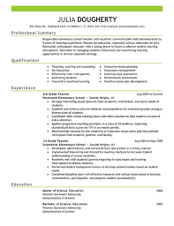 Resume Examples For Teaching Jobs by Resume Examples For Teachers Sample Resumes For Teachers Teacher