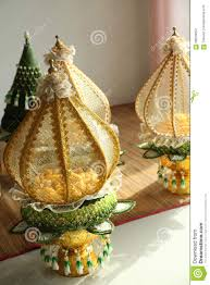 traditional wedding gifts decoration tray of thai traditional wedding gifts stock photo