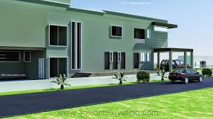 Modern Contemporary House Plans 3d Front Elevation Com 2 2 Kanal Dha Karachi Modern Contemporary