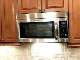 under cabinet microwave dimensions cabinet mounted microwave kitchen contemporary with fish tank