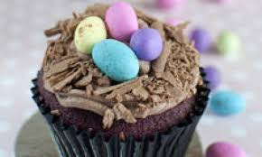 chocolate easter egg cupcakes kidspot