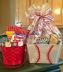 island gift basket same baseball themed easter or gift basket gift basket ideas