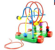 wooden bead toy table wooden bead toy table children around the toys educational animals