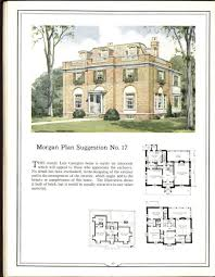 Georgian House Plans Morgan Plan No One Of Many Plans Both Large And Small In House