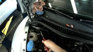 vw a4 simple cooling system bleeding youtube