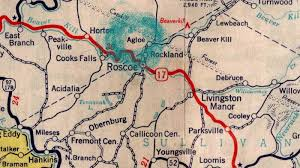 Ny State Road Map by An Imaginary Town Becomes Real Then Not True Story Krulwich