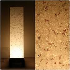 Square Floor Lamp Hanji Light Tall Square Floor Lamp