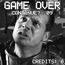 Game Over Meme - game over man rip bill paxton by braynded12 meme center