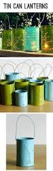halloween tin cans repurpose tin cans make these lovely outdoor luminaries i like