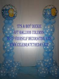 its a boy its a balloons baby shower balloon decoration