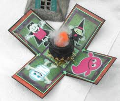 doxie mel designs halloween exploding box
