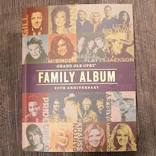 family photo album 90th anniversary family album grand ole opry