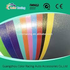 gold glitter car guarantee 3 years blue color gold glitter sanding film cast car