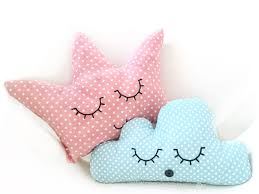 design kissenh llen kissen als krone und wolke nähen