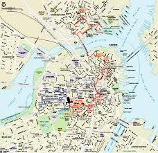 boston tourist map boston national historical park official park map charlestown