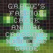gracie hairstules new leaf gracie s fashion check animal crossing new leaf guide animal