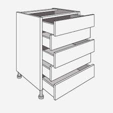 meuble cuisine a tiroir meuble cuisine bas best of de cuisine bas avec 5 tiroirs