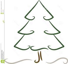 simple christmas tree drawing simple christmas tree clipart
