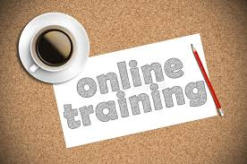 coffee and pencil sketch online training on paper stock image