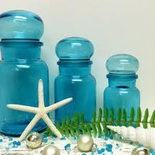 bubble lid belgium blue christmas storage jars apothecary jar