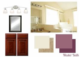 Master Bath Plans Master Bathroom Plans And Mood Board Two Purple Couches