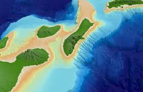 Molokai Map Main Hawaiian Islands Multibeam Bathymetry Synthesis