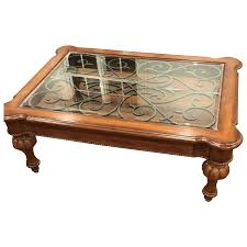 ethan allen glass coffee table coffee table coffee table unforgettable tuscan picture concept