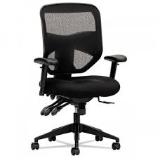 Black Mesh Office Chair Basyx By Hon Ergonomic High Back Black Mesh Office Chair With