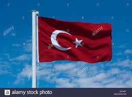 Turkey National Flag Turkish National Flag Turkey Stock Photo Royalty Free Image