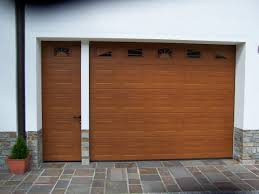 porte sezionali hormann porta da garage sezionale con porta laterale abbinata h禧rmann